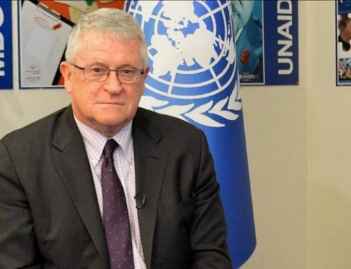 UN Regional Humanitarian Coordinator for Syria Kevin Kennedy: Closing Bab al-Salameh 'endangers the lives of children'