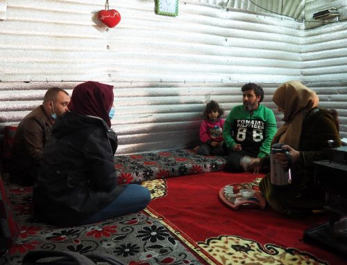 The muffled advance of COVID-19 in Syrian refugee camps in Lebanon