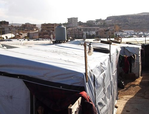 Why do Arsal refugee camps flood every year?