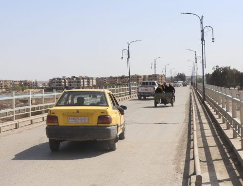 Raqqa residents suffer daily while awaiting bridge reconstruction