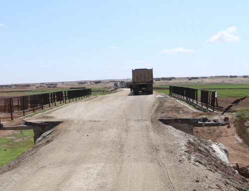 Years after IS expulsion, destroyed bridges and continued suffering in Raqqa (Photos)