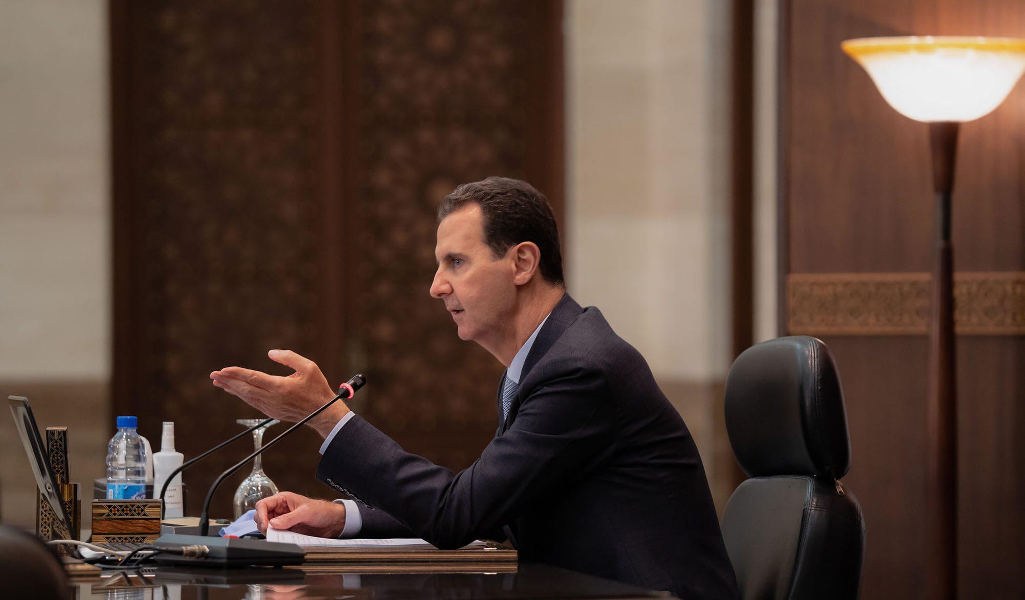 بشار الأسد العفو الرئاسي