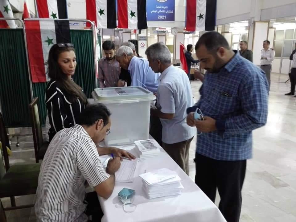 القامشلي الانتخابات الرئاسية