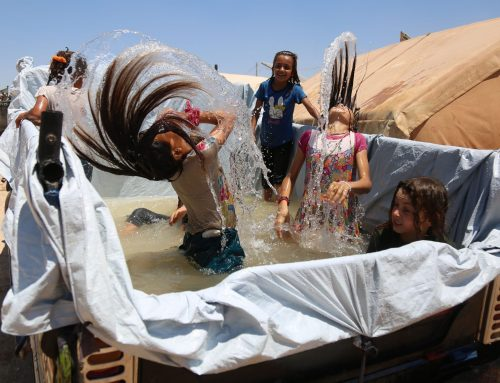 Improvised swimming pools bring joy and relief 12/7/2021