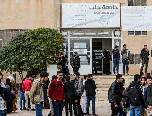 University students in opposition areas seek recognition for their studies